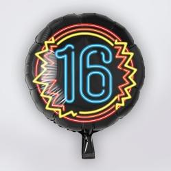 folieballon 16 jaar